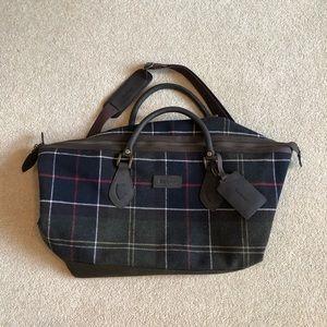 Barbour Classic Tartan Bag.